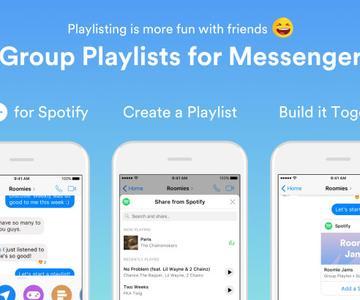 Cómo crear una lista de reproducción de grupo de Spotify en Facebook Messenger