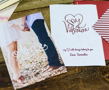Cómo hacer una tarjeta de San Valentín en línea