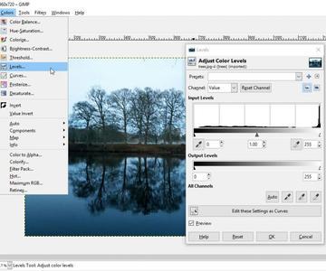 Utilice GIMP para dar a sus fotos un toque profesional