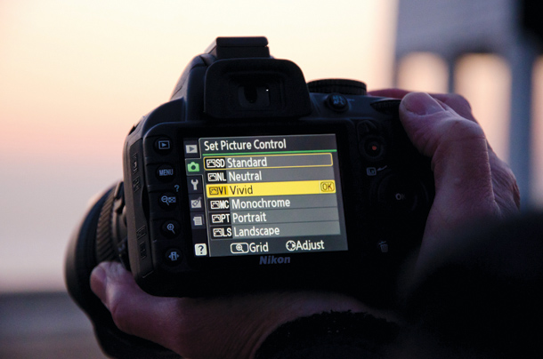 Sunset Photography Tips: use Picture Controls or Picture Styles