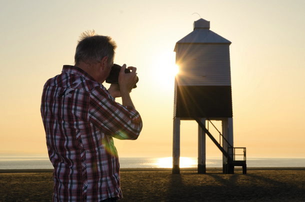 Sunset Photography Tips: hide the sun