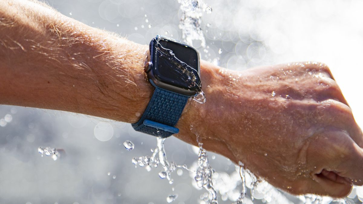 ¿Es impermeable el reloj Apple Watch?