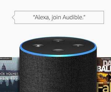 Cómo escuchar audiolibros audibles en un altavoz de Amazon Echo
