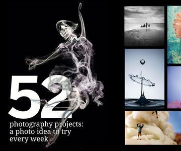 52 proyectos fotográficos: una gran técnica para probar todas las semanas del año