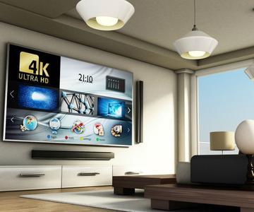 Cómo maximizar su sala de estar para una TV 4K y un cine en casa