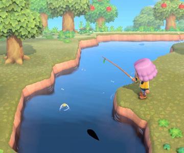 Cómo atrapar un Stringfish en Animal Crossing: Nuevos Horizontes