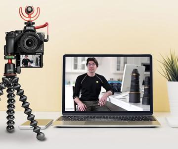 Cómo usar tu cámara DSLR o sin espejo como una cámara web