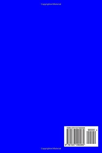 2017: Kalender/Terminplaner: 1 Woche auf 2 Seiten, Format ca. A5, Cover blau: Volume 8
