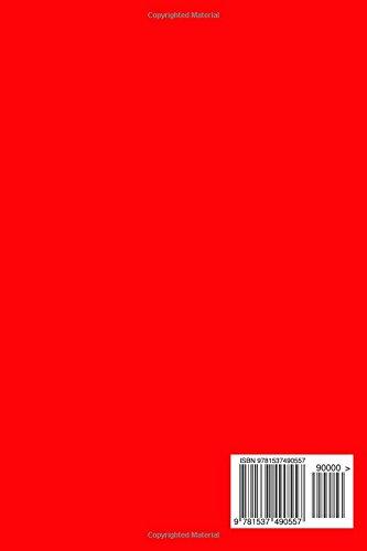 2017: Kalender/Terminplaner: 1 Woche auf 2 Seiten, Format ca. A5, Cover rot: Volume 11
