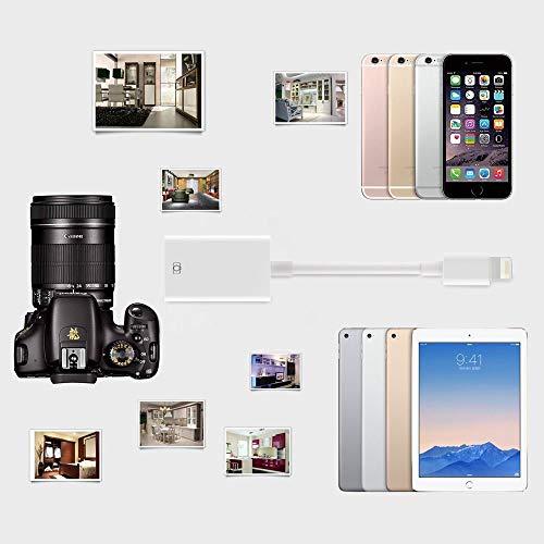 Adaptador USB Camera USB C a USB Adaptador | OTG a USB Hembra Cable Adaptador para Phone y Pad White