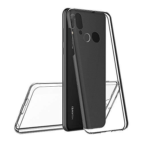 AICEK Funda Huawei P Smart 2019, Transparente Silicona 360°Full Body Fundas para Huawei P Smart 2019 Carcasa Silicona Funda Case (6,21 Pulgadas)