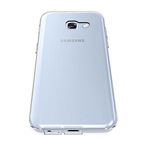 AICEK Funda Samsung Galaxy A5 2017, Samsung Galaxy A5 2017 A520F Funda Transparente Gel Silicona Galaxy A5 2017 Carcasa para Samsung Galaxy A5 2017 5.2