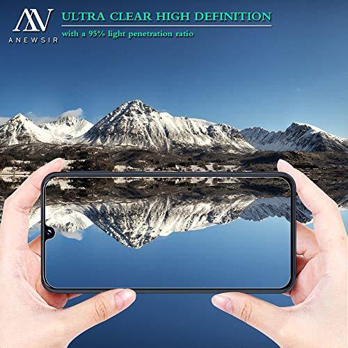 ANEWSIR [2 Pack Protector de Pantalla para Samsung Galaxy A70 Cristal Templado Samsung Galaxy A70 [9H Dureza] [Alta Definicion]