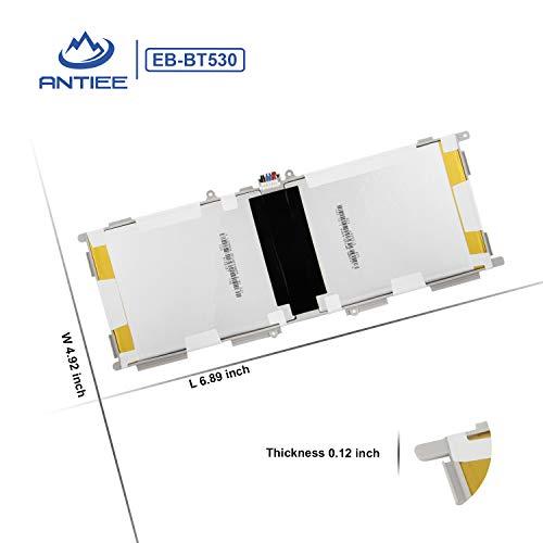 """ANTIEE 6800mAh EB-BT530FBU Batería para Samsung Galaxy Tab 4 10.1"""" SM-T530(WiFi)T530NU T531(3G WiFi)T535(3G 4G LTE WiFi)T537 T537A T537V T532 T533 T536 Tablet EB-BT530FBC EB-BT530FBE With Tools"""