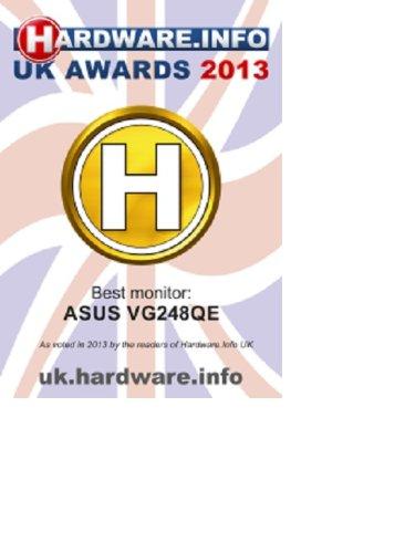 "ASUS VG248QE Serie VG248 - Monitor Gaming de 24"" Full-HD (1920x1080, 1 ms, Free-Sync, HDMI x2, DisplayPort, D-Sub Flicker-Free, Panel TN, altavoces, con base ergonómica), color Negro"