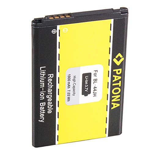 Batería BL-44JH | EAC61839001 para LG P700 Optimus L7 | E440 | E460 y mucho más… [ Li-ion, 1900mAh, 3.7V ]