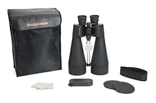 Celestron 71018 SkyMaster - Binoculares 20x80, Campo de Visión Angular 3,7°, Lentes Multicapa, Prisma de vidrio BaK-4