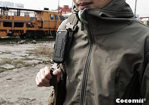 Cocomii Robot Armor ZTE Blade V6/D6/X7 Funda NUEVO [Robusto] Superior Funda Clip Para Cinturón Soporte Antichoque Caja [Militar Defensor] Cuerpo Completo Sólido Case Carcasa for ZTE Blade V6 (R.Black)