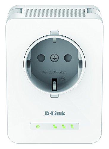D-Link DAP-1365 - Repetidor WiFi N300 con Enchufe (1 Puerto LAN Ethernet RJ-45 10/100Mbps, 2 Antenas externas abatibles, Punto de Acceso, 802.11b/g/n, WPS, indicador LED de señal), Blanco