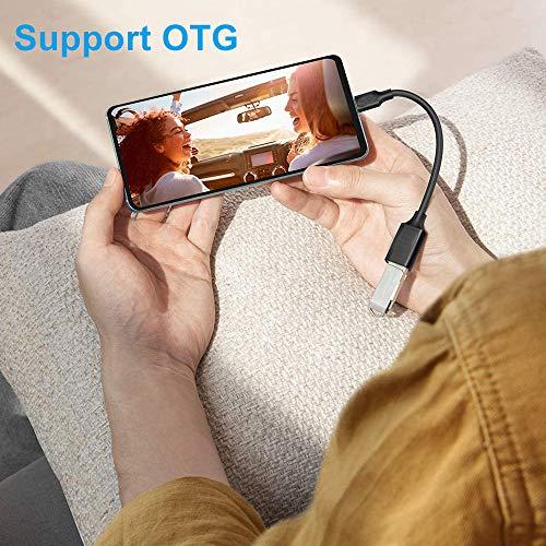 EasyULT Adaptador USB C a USB 3.0 [3 Pack], Cable OTG USB Tipo C a USB 3.0 Adaptador OTG USB 3.1 Tipo C 5Gbps, para MacBook Pro 2017/2016, ChromeBook Pixel, Galaxy s8