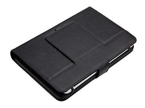 """Funda con Teclado en Español (Letra Ñ Incluída) con Bluetooth Extraíble para Tablet Samsung Galaxy Tab 2 / Tab 3 / Tab 4 de 10.1""""- Color Negro"""