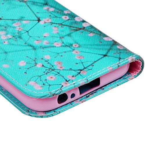 Funda para Samsung Galaxy A3 2017, Libro Cuero Impresión Suave PU Premium Silicone TPU Carcasa Tapa y Cartera, Correa Mano, Soporte Plegable, Ranuras para Tarjetas y Billetera, Cierre Magnético Capoc