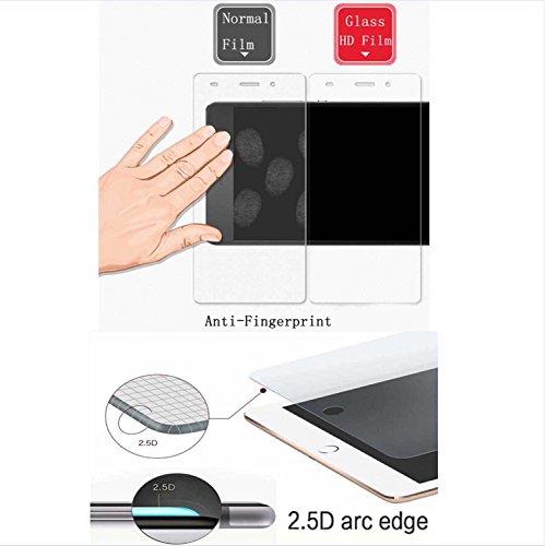 Guran [3 Unidades] Protector de Pantalla Vidrio Cristal Templado para Motorola Moto Z2 Force Smartphone Glass Vidrio Templado Film (9H, 2.5D Edge, 0.3mm)