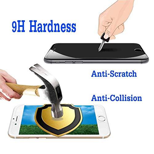 Guran 4 Paquete Cristal Templado Protector de Pantalla para TCL PLEX Smartphone 9H Dureza Anti-Ara?azos Alta Definicion Transparente Película