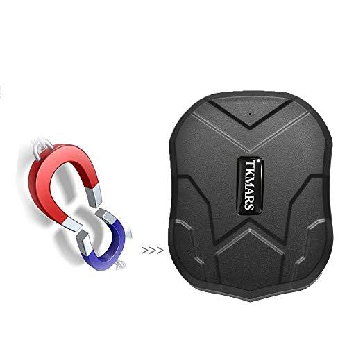 HangangCoche GPS Tracker Para Vehículos 5000Mah 90Días Larga Espera Gsm Dispositivo De Seguimiento En Tiempo Real Resistente Al Agua Cae Alarma Con Fuerte Imán, En Tiempo Real GPS Vehículo Tracker