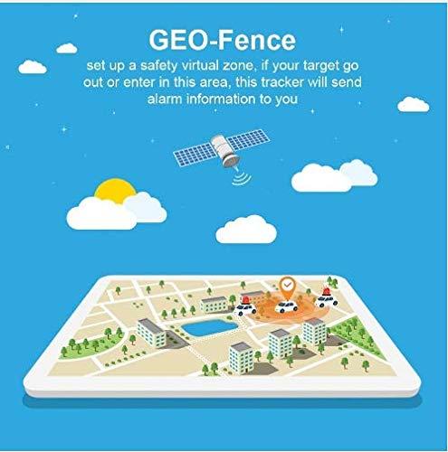 Hangang GPS Tracker localizador GPS en tiempo real Localizador SMS Online 5000 mAh 90 días Standby magnético impermeable dispositivo Crawler traccia Manual App gratuita GPS Tracker