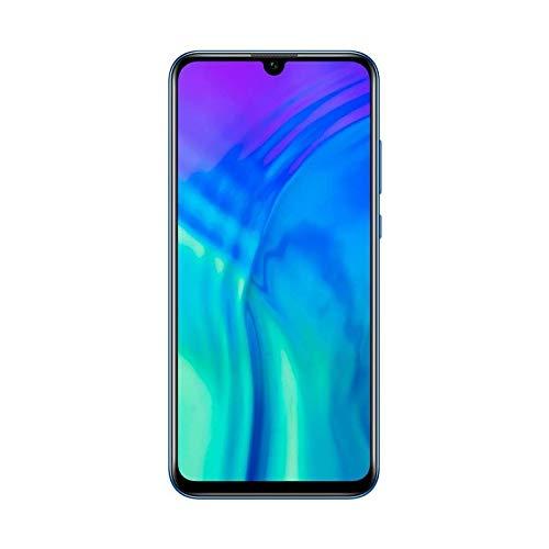 Honor 20 Lite Smartphone 4 GB 128 GB, pantalla FHD+, Android 9.0, teléfono móvil, versión global, color azul