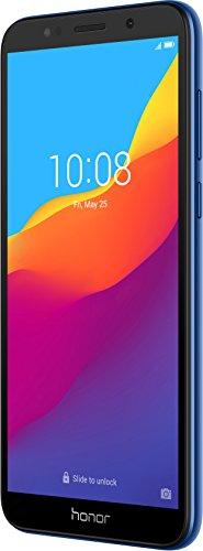 "Honor 7S - Smartphone Android 8.1 (Pantalla FullView de 5,45"" 18:9, 4G, Cámara Trasera 13Mpx y Frontal 5Mpx, 2GB RAM, 16GB ROM, Quad Core, 3020 mAh), (Azul)"