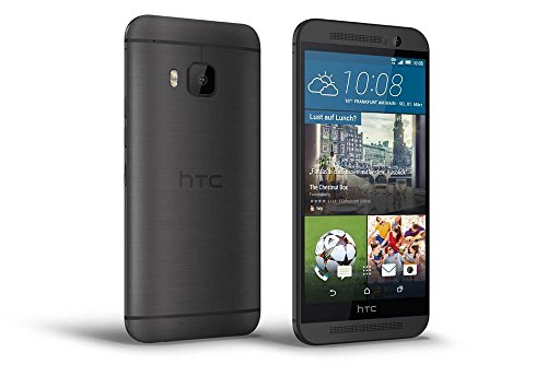 "HTC One M9 - Smartphone libre Android (pantalla 5"", cámara 20.7 MP, 32 GB, 3 GB RAM), gris oscuro"