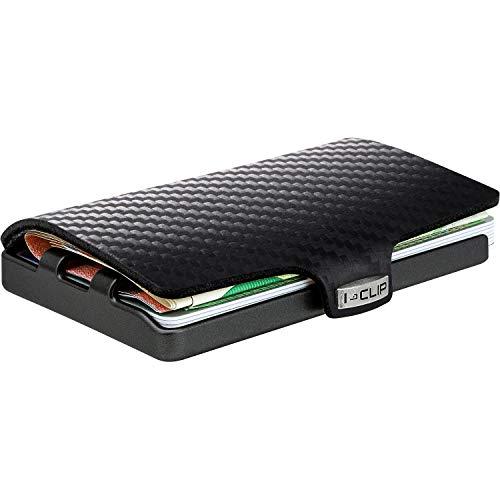 I-CLIP ® Cartera Carbon, Gunmetal-Black (Disponible En 2 Variantes)