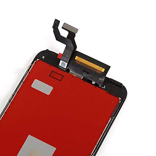 Ibaye Reemplazo de Pantalla iPhone 6s Plus 5.5'' Táctil LCD con Herramientas de Reparación y Protector de Pantalla (Negro)