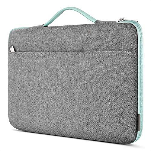 Inateck Maletín Impermeable Compatible con 14-14.1 Pulgadas Portátiles y 15'' Surface Laptop 3, 15 MacBook Pro 2016/2017/2018/2019(A1707/A1990) Funda Protectora Multifuncional Bolso