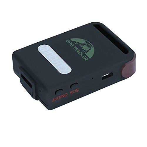 Incutex GPS Tracker localizador rastreador TK104 para Personas y vehículos - antirrobo
