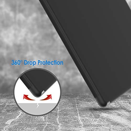 JETech Funda para iPad Air 2, Carcasa con Soporte Función, Auto-Sueño/Estela (Negro)
