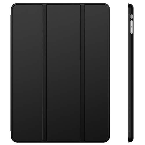JETech Funda para iPad Mini 1 2 3, Carcasa con Soporte Función, Auto-Sueño/Estela (Negro)