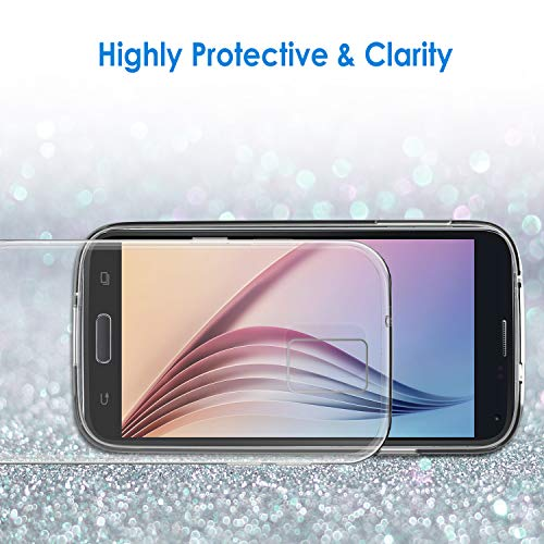 JETech Funda para Samsung Galaxy S5, Anti-Choques y Anti-Arañazos, Transparente