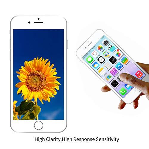 LanSupp Pantalla para iPhone 7 Plus Blanco, Táctil LCD Reemplazo con Cámara Frontal, Sensor de proximidad, Altavoz y Kit de reparación