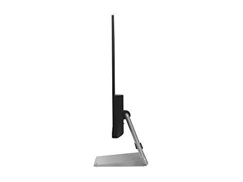 "Lenovo Q27q-10 27.0 "" QHD IPS FreeSync Gaming Monitor 75 Hz 4 ms DP+HDMI 3 lados sin bordes con altavoces (2x 3W) - Negro/ Peana gris metalizada"