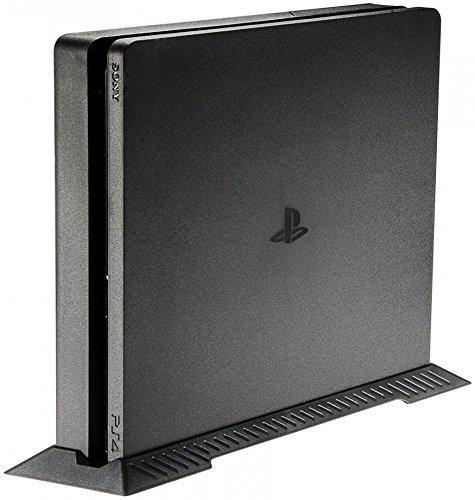 LeSB Playstation 4 Slim Soporte Vertical para PS4 Slim Consola, Negro