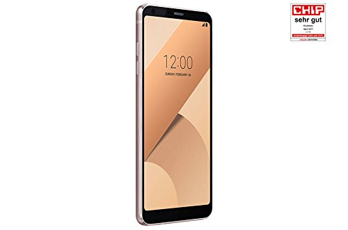 "LG G6 - Smartphone, 5.7"", SIM única, 4G, 32 GB, 13 MP, Android, 7.0 Nougat, Rosa/Oro"