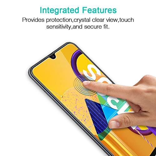 LK Protector de Pantalla para Samsung Galaxy M30s / A30s Cristal Templado, [3 Pack] [9H Dureza] [Resistente a Arañazos] Vidrio Templado Screen Protector para Samsung M30s / Samsung A30s