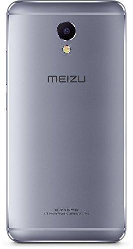 "Meizu M5 Note - Smartphone de 5.5"" (Octa-Core A53 1.8 GHz, Memoria Interna de 32 GB, 3 GB de RAM, HD 720p), Gris/Negro"