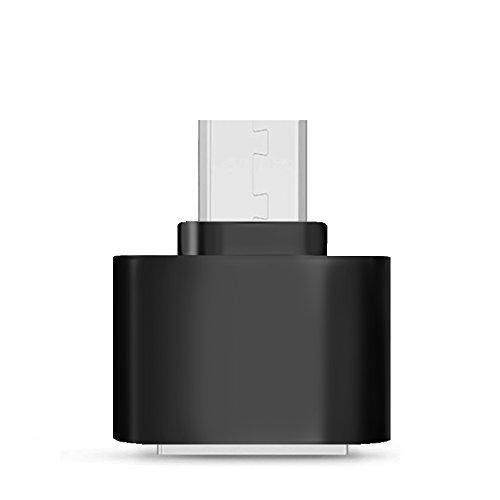 Micro USB Adaptador Act Micro USB a USB 2.0 Adaptador Micro USB macho a USB A hembra OTG Adaptador 2 unidades (2 X Negro)