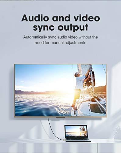 MoShou-Cable HDMI 2.1 / UHD HDR 4K 8K 120Hz 2160p 4320p 3D / HDMI 2.0 / eARC Dolby Vision Atmos/Trenzado de Nylon/Ultra Alta Velocidad 48Gbps Ethernet (1.5 m)