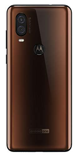 Motorola One Vision - Smartphone Android One (4 GB de RAM, 128 GB, Cámara 48 MP Quad Pixel, Pantalla 6.3'' FHD+ CinemaVision, ratio 21:9, Dual SIM), color bronce [Versión española]