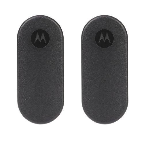 Motorola Walkie Talkie T50 - Pack 2 unidades - Largo alcance 6 km - 8 + 121 códigos - Batería recargable hasta 16 horas, Gris